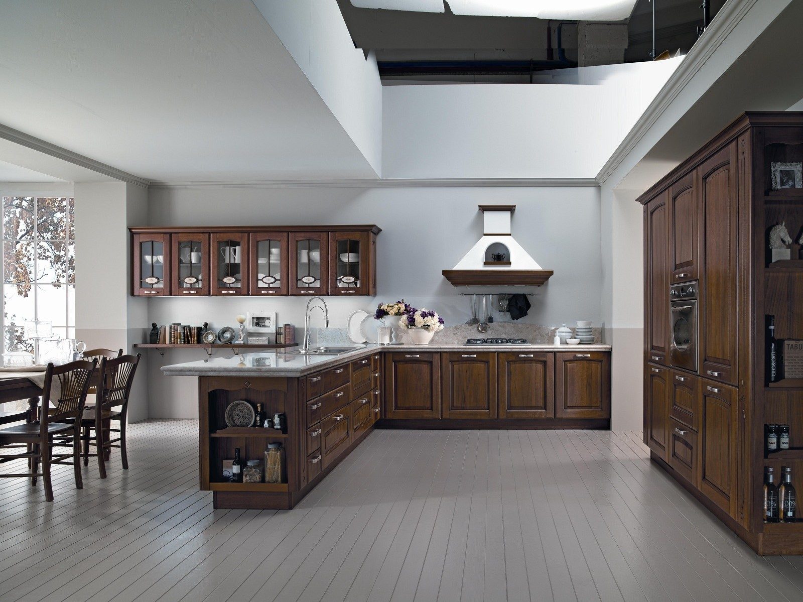 Proposte D'arredo Cucine Veronica Noce Di Cucine Lube #5E483F 1600 1199 Cucine Veneta O Lube