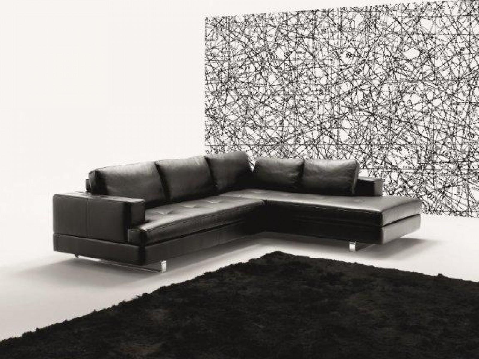 Proposte d 39 arredo divani divano angolare in pelle di polo divani - Copridivano angolare per divano in pelle ...