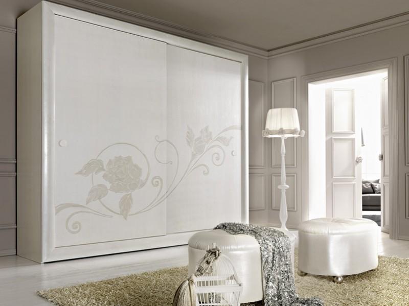 Proposte d 39 arredo di franco gulotta arredamento camere - Camera da letto contemporanea bianca ...