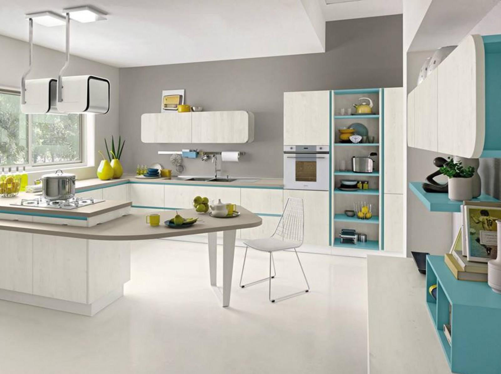 Proposte d 39 arredo cucine immagina di cucine lube - Cucine e living ...