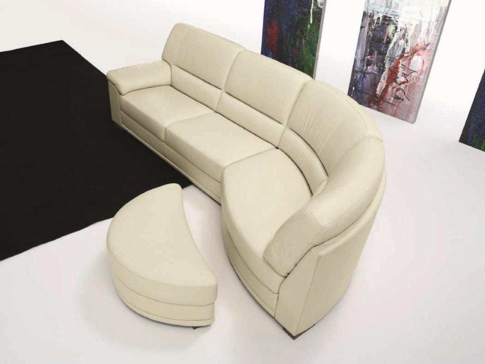 Proposte d 39 arredo divani divano con penisola curva di for Divani d arredo